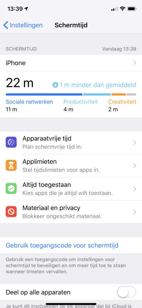 Schermtijd: uitleg door I Fix Your in Kampenhout