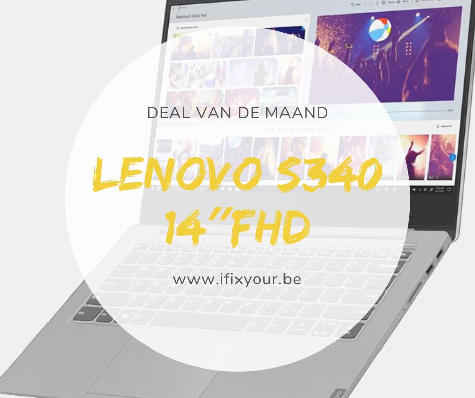 Lenovo s340 14″FHD