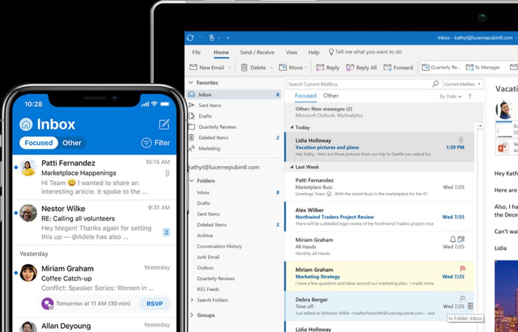 Outlook inclusief Office 365 kopen bij I Fix Your